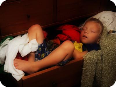 the fuck Found babysitter sleeping