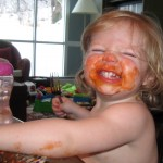 Johnson's Knows Messy! {Week Two Messy Photo Contest Winner}