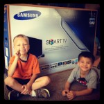 Our TV Wasn't Smart Enough. The Samsung Smart TV Changed All That.
