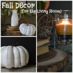 Fall Living Room Decor {On a Budget}