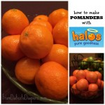 How to Make Fragrant Pomanders {with Halos Mandarins and a Whole Lot o' Love}