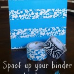 {Back to School in Style} Spoof Up Your Binders & Notebooks