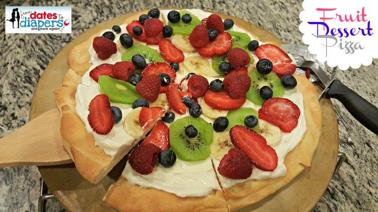 Fruity Dessert Pizza