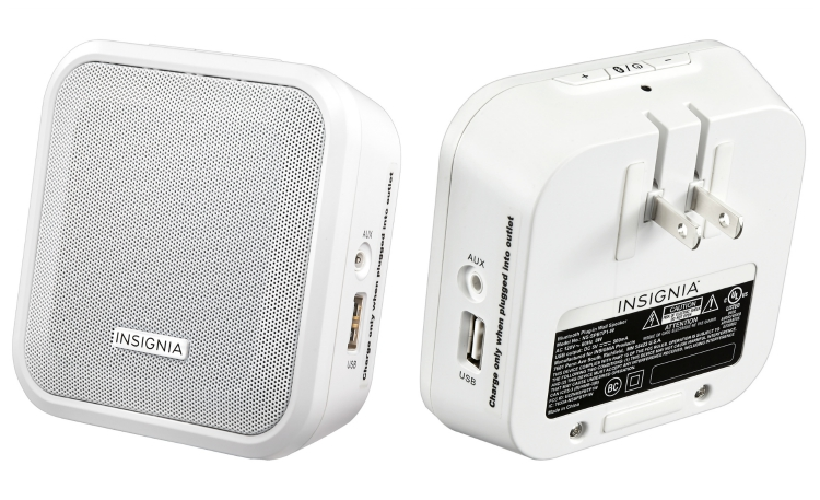 Insignia Bluetooth Plug In Speaker