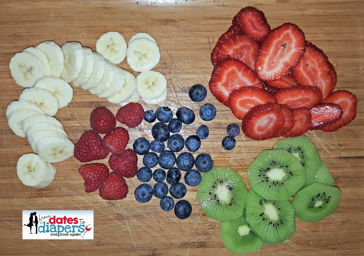 sliced fruit makes great toppings