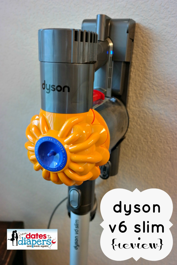 dyson v6 slim review from dates to diapers. Black Bedroom Furniture Sets. Home Design Ideas