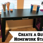 Create a Quiet Homework Station