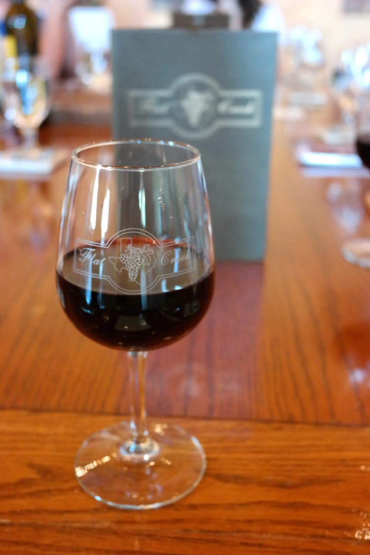 Wine at Flat Creek Winery