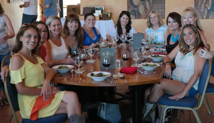 Lunch at Flat Creek Winery
