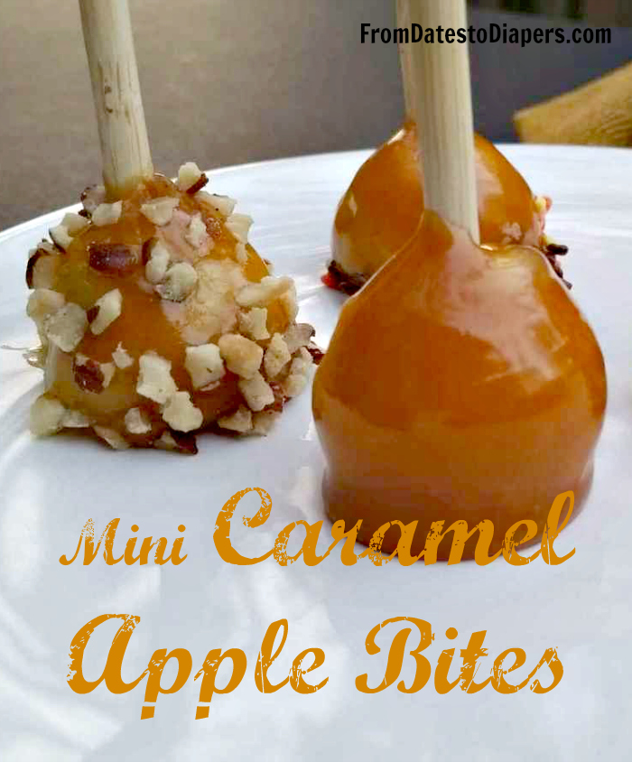 How to make Mini Caramel Apple Bites