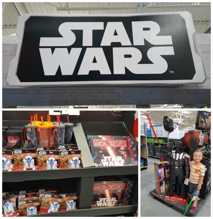 Star Wars at Walmart