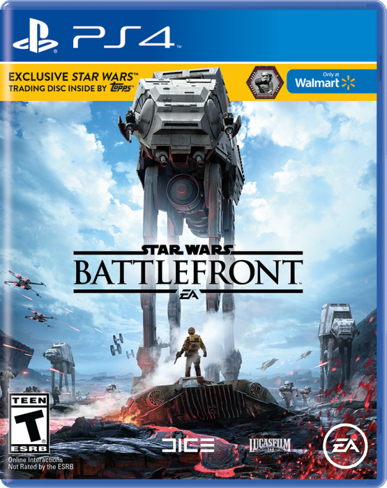 SWBF PS4 Only at Walmart