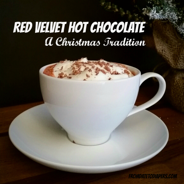 Red Velvet Hot Choc - A Christmas Tradition