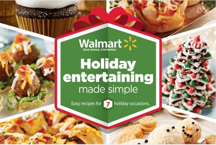 Walmart Holiday Entertaining
