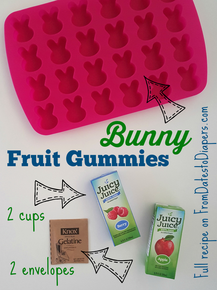 Bunny Fruit Gummies | From Dates to Diapers