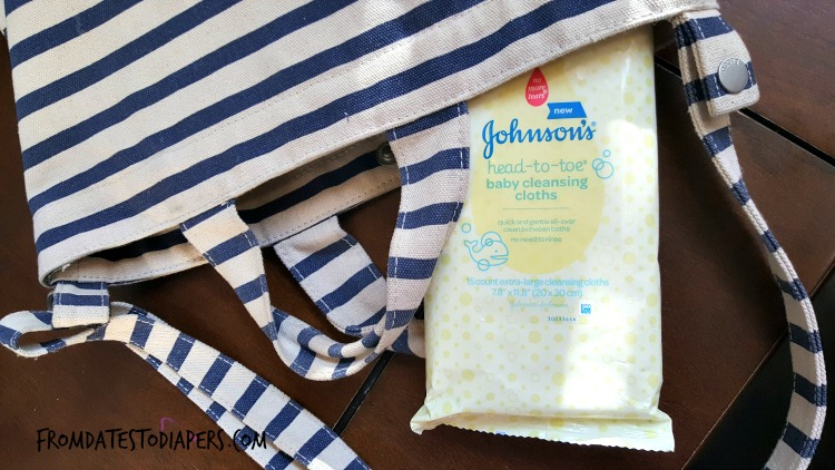 Johnson's cleansing cloths