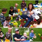 Easter Gathering At The Park