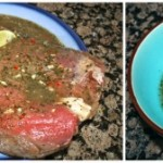 Flank Steak with Lime and Cilantro Marinade