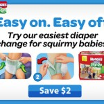 Easy On, Easy Off {Huggies Little Movers $2 off coupon}