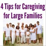 Large Families :: Caregiving